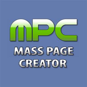 Mass Page Creator